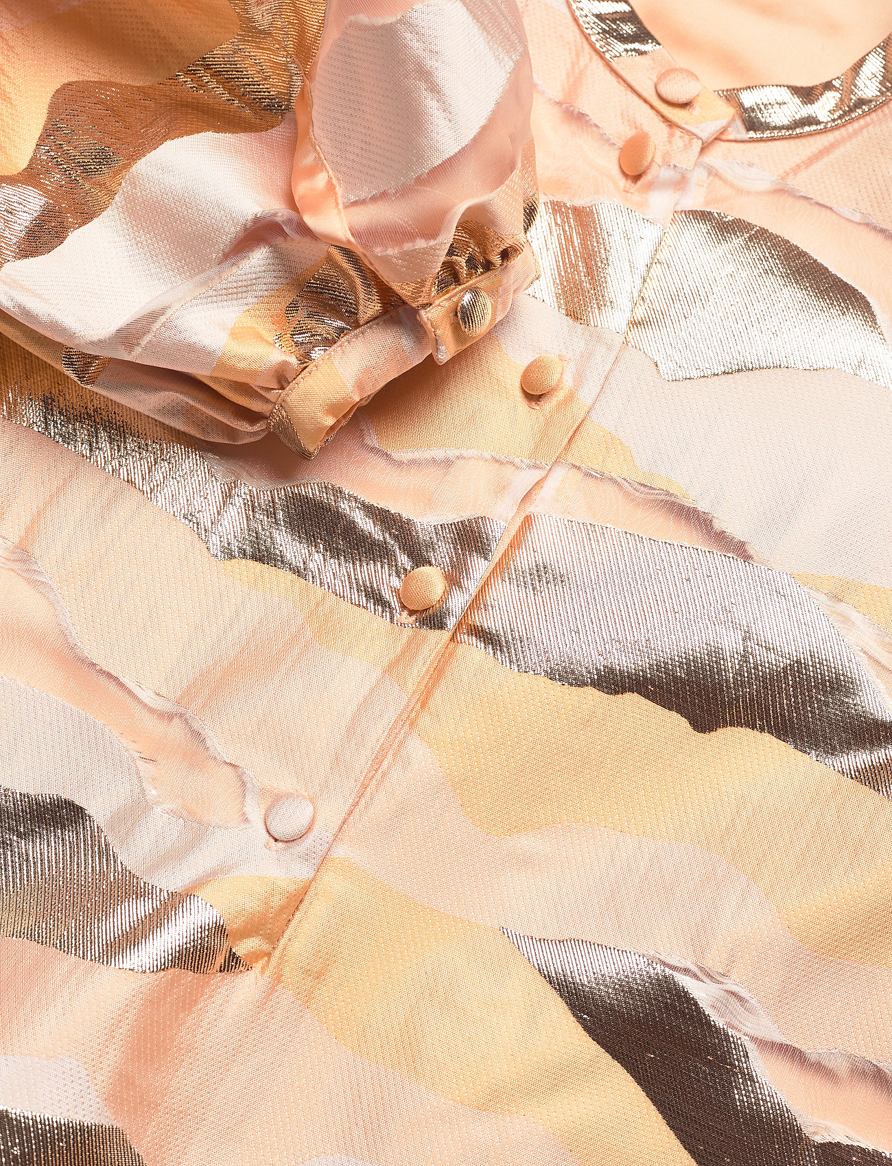 STINE GOYA - Josefine, 923 Organza - korte kjoler - horizon gold - 2