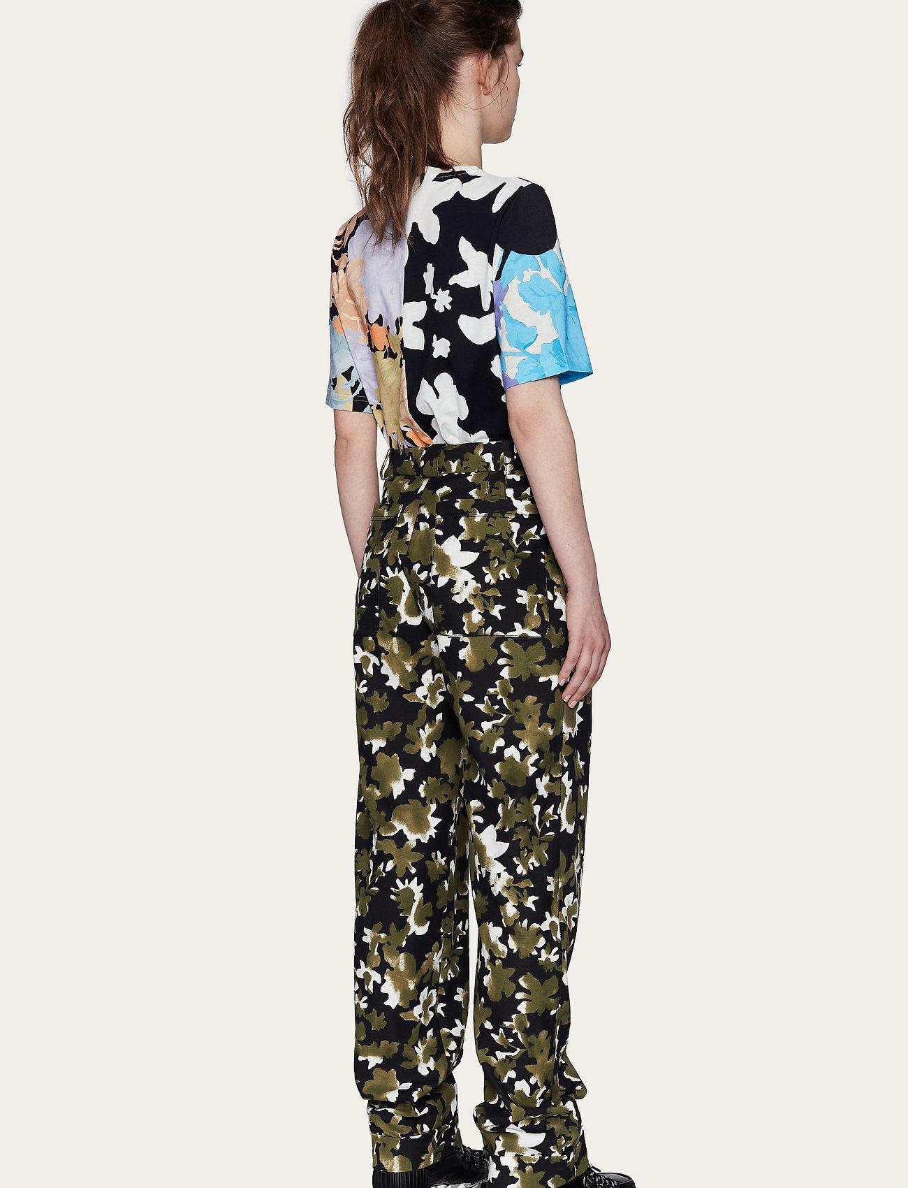 STINE GOYA - Leonie C, 1000 Allover Tee - t-shirts - floral mix - 3
