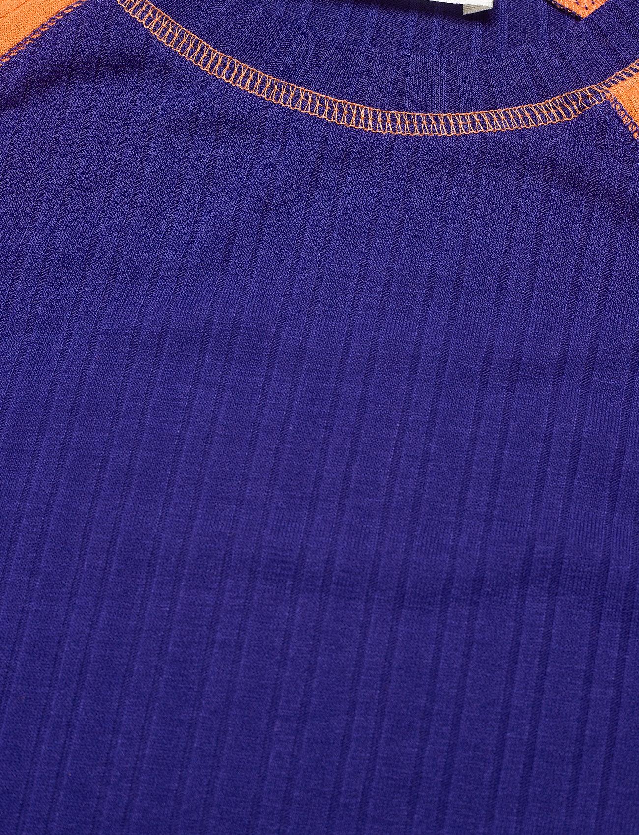 STINE GOYA - Samara, 1044 Rib T-shirt - långärmade toppar - royal mix - 4