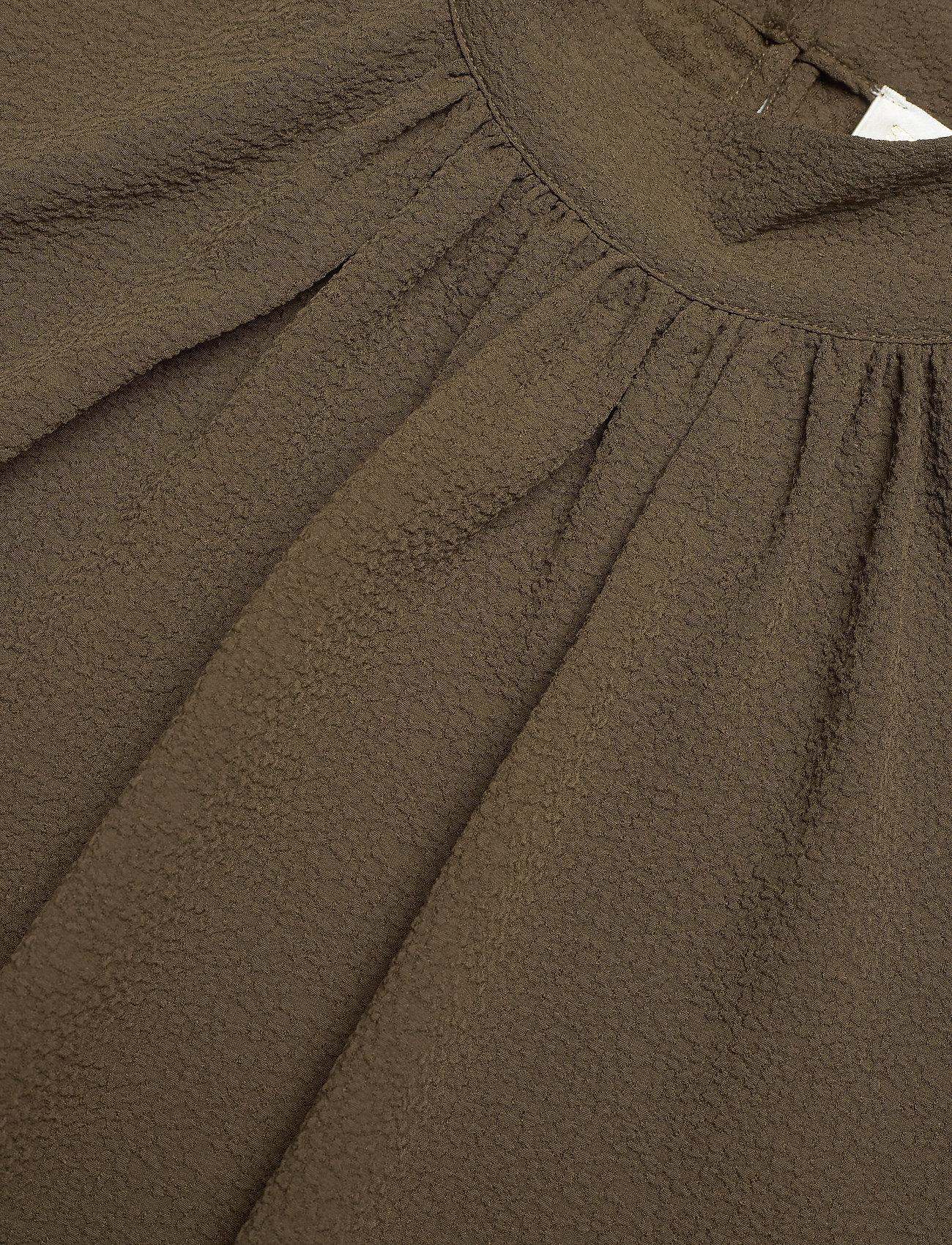 STINE GOYA - Eddy, 1032 Structure Stretch - långärmade blusar - cedar - 4