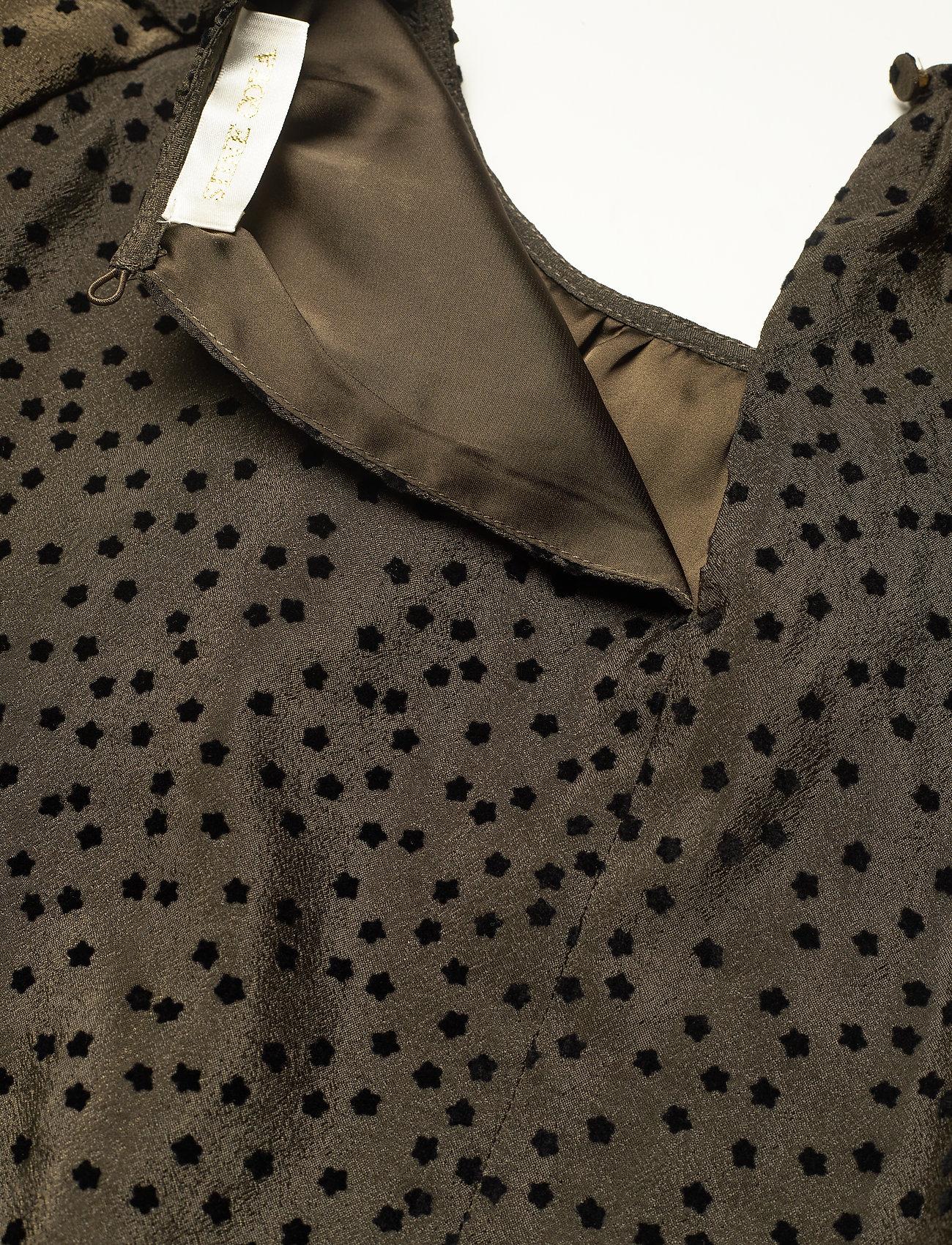 STINE GOYA - Kelly, 1034 Textured Poly - hverdagskjoler - meadow flock - 5