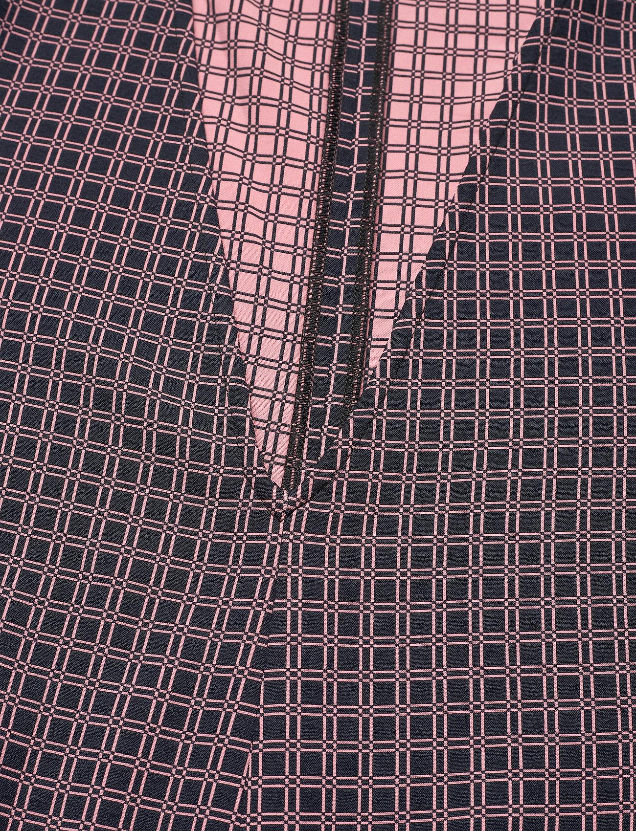 STINE GOYA - Mavelin, 1081 Grid Stretch - vardagsklänningar - grid - 4