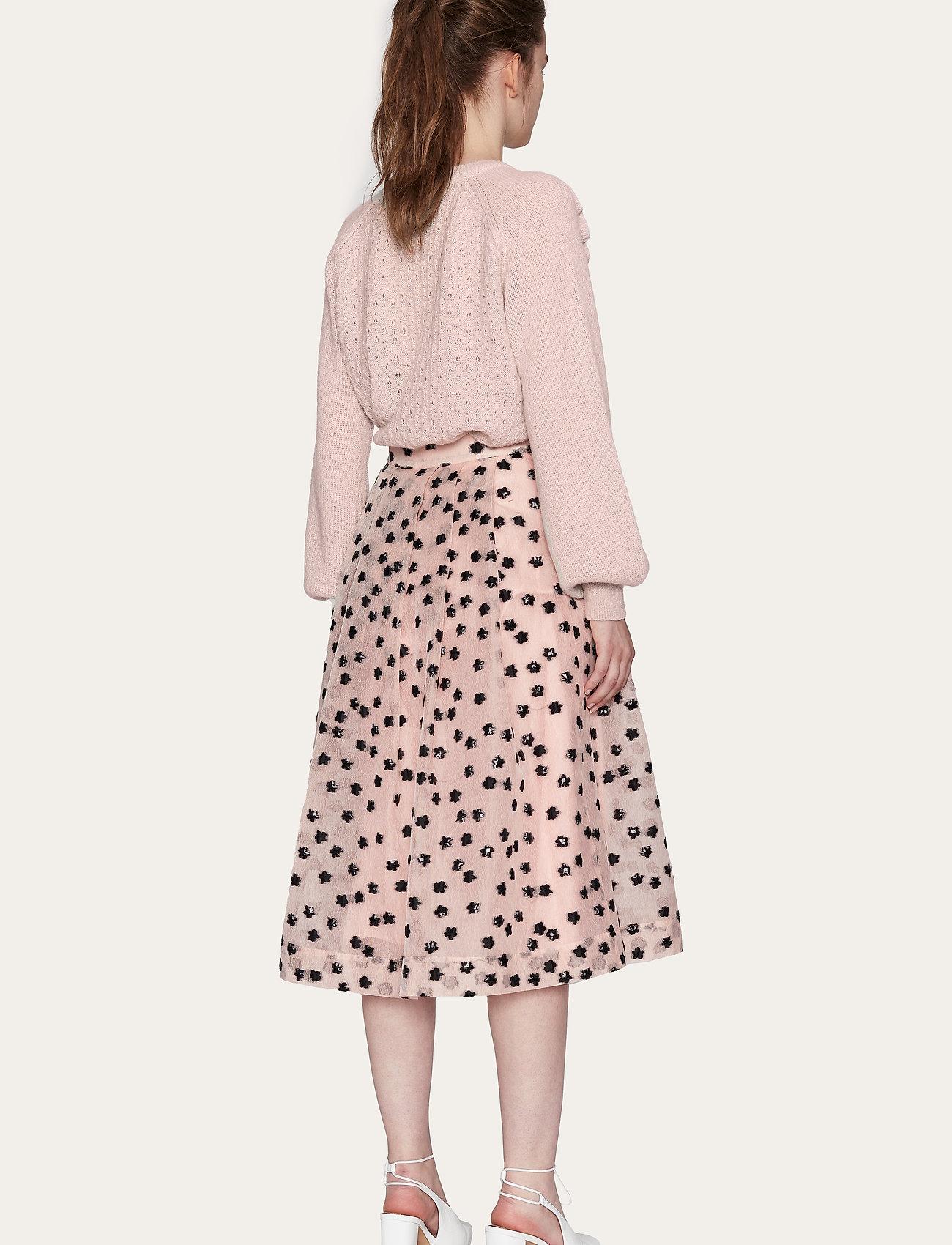STINE GOYA - Thea, 1012 Meadow Organza - midi kjolar - meadow blush - 3