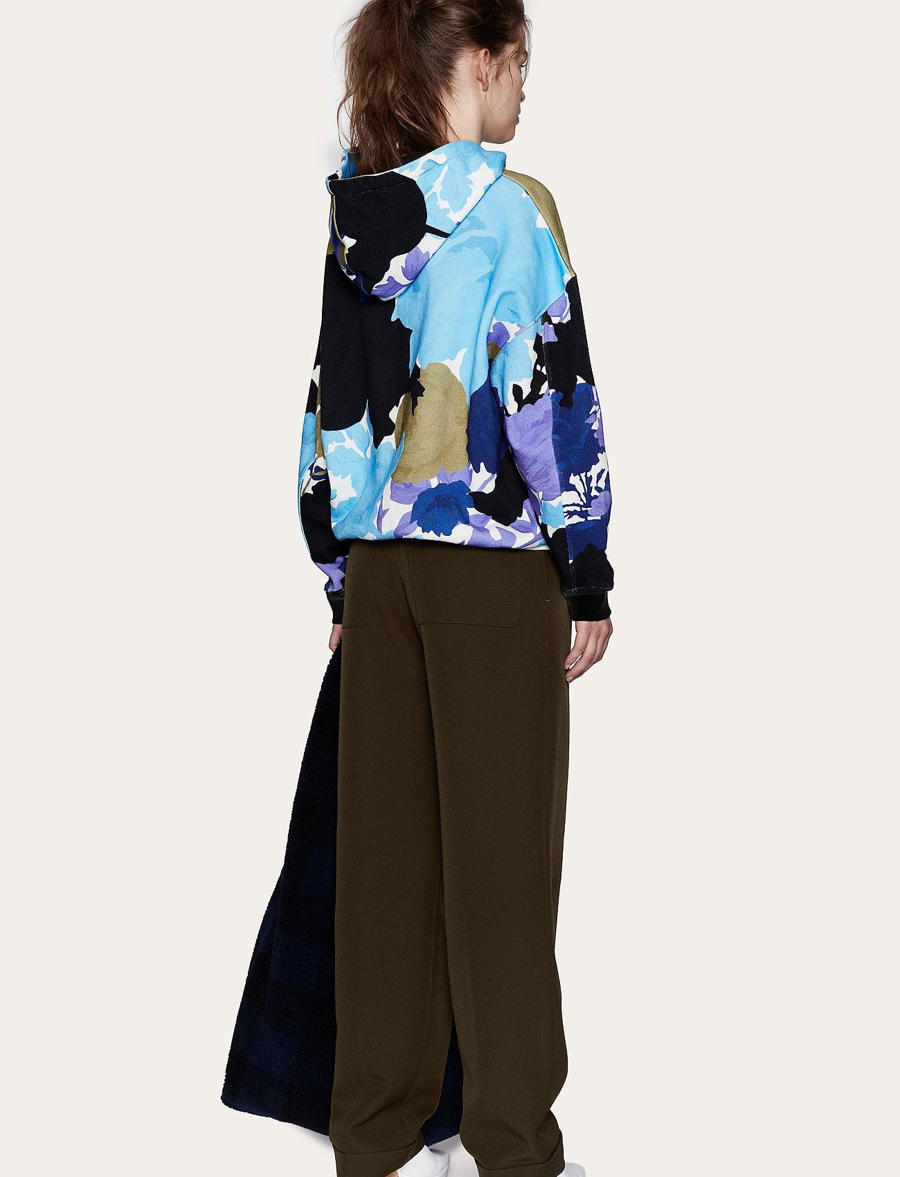 STINE GOYA - Adrisa, 1080 Hoodie - sweatshirts & hættetrøjer - rosegarden blue - 3