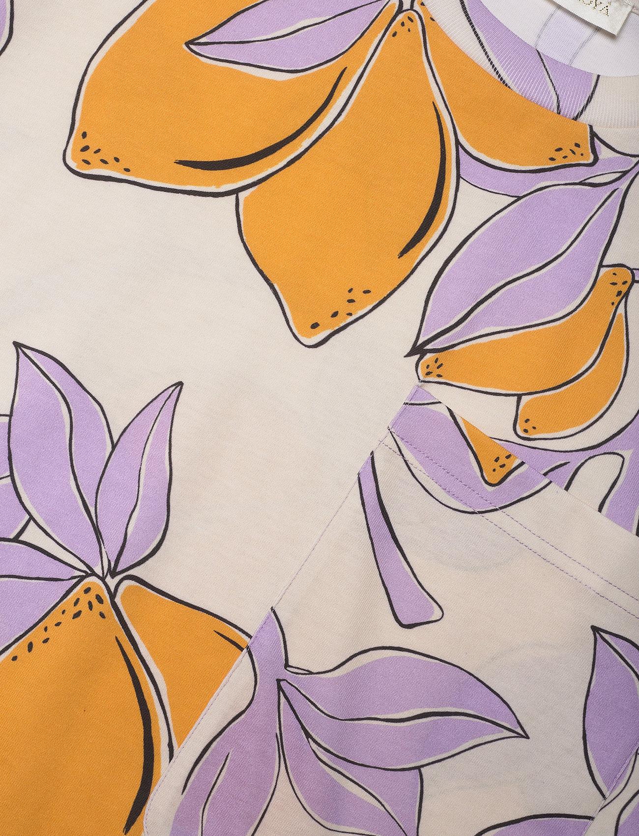 STINE GOYA - Katalina, 1083 Allover Tee - t-shirts - lemons - 2