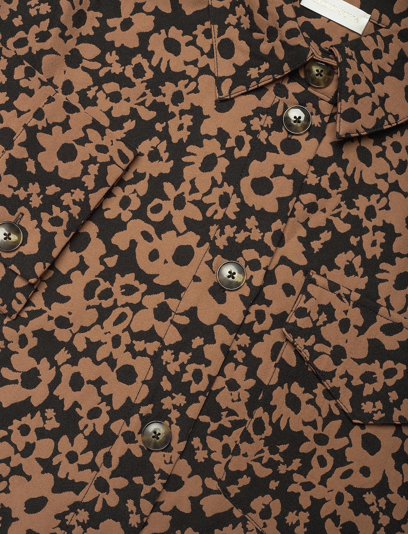 STINE GOYA - Silvi, 1033 Stretch Jacquard - långärmade skjortor - daisy - 3