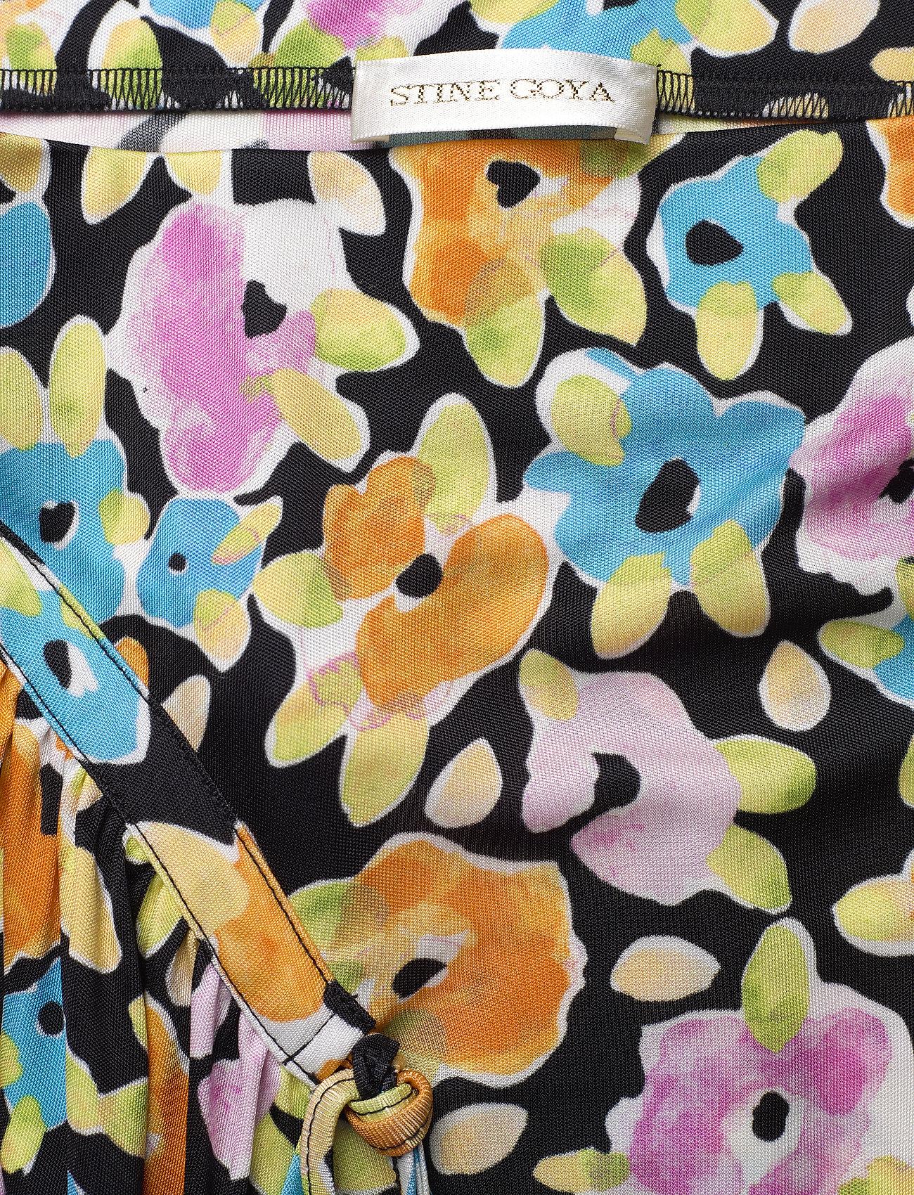 STINE GOYA - Paloma, 1089 Viscose Jersey - watercolour flora - 2