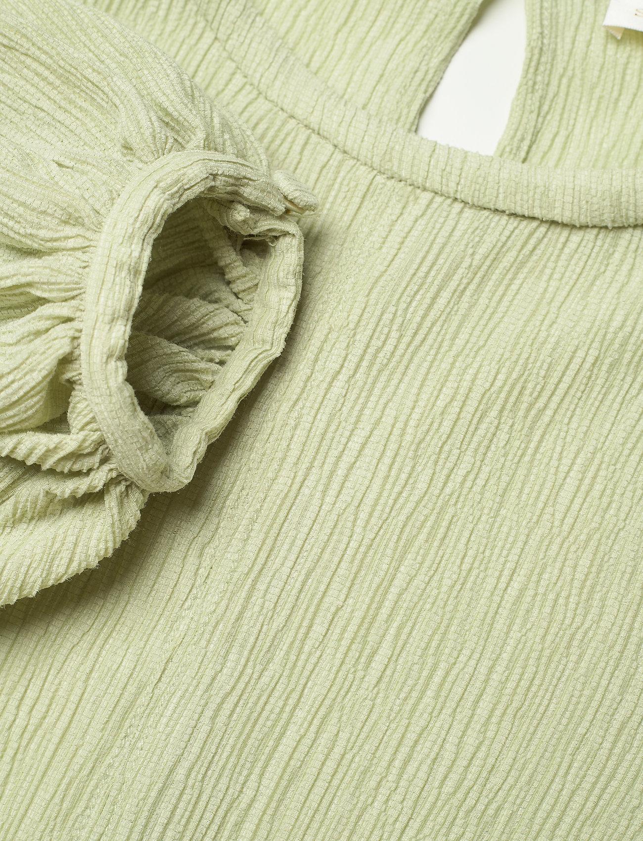 STINE GOYA - Inga, 1143 Crinkled Tencel - sommerkjoler - sage - 4