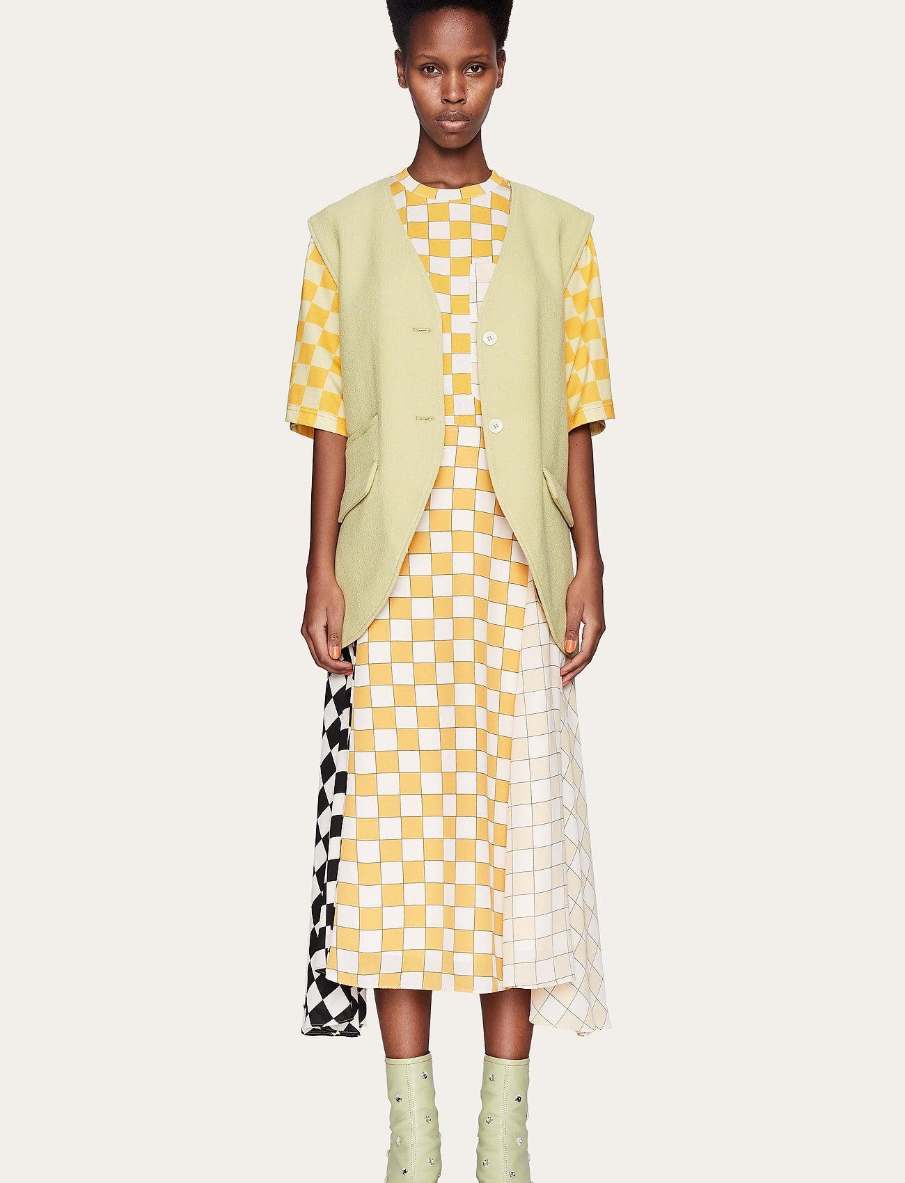 STINE GOYA - Alisha, 1108 Checks Mix - midi kjoler - checks - 0