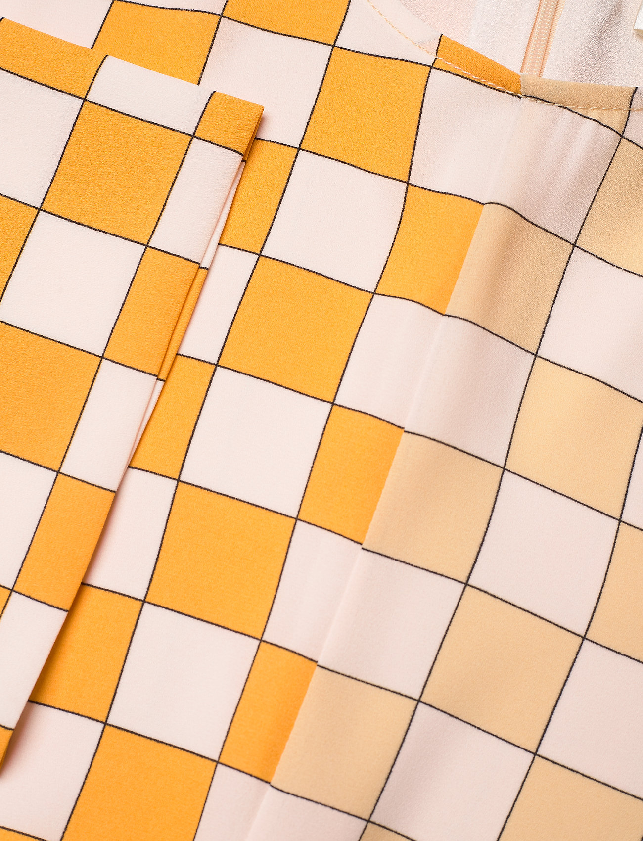 STINE GOYA - Alisha, 1108 Checks Mix - midi kjoler - checks - 3