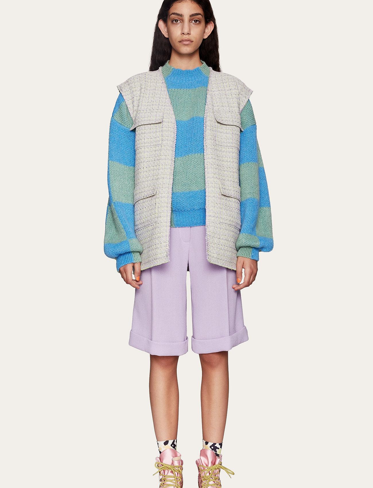 STINE GOYA - Estella, 1113 Iris Tailoring - bermudashorts - lilac - 0