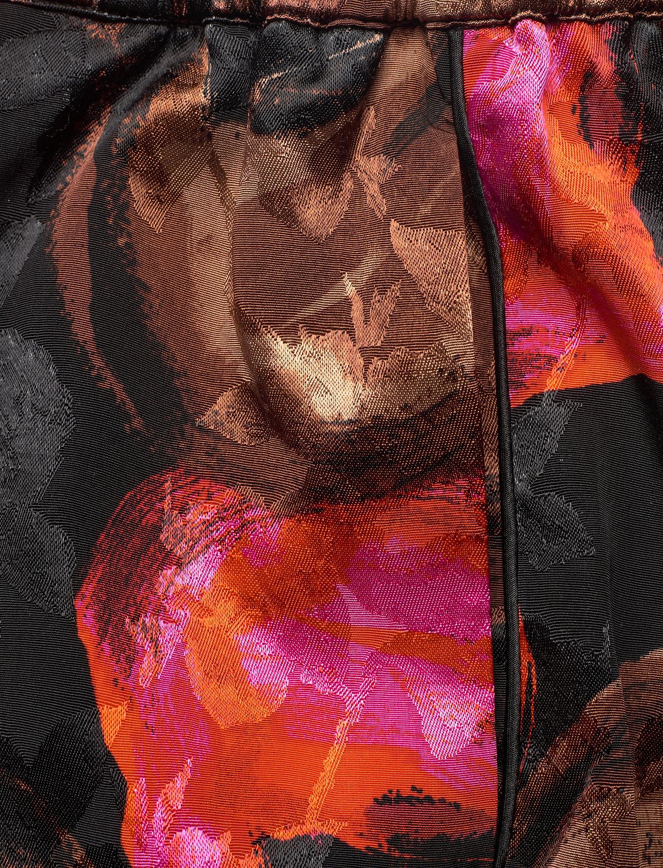 STINE GOYA - Dane, 1167 Pajama Jacquard - casual shorts - opium brown - 2