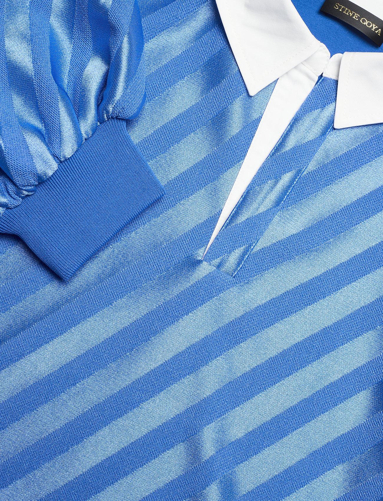 STINE GOYA - Yousef, 1160 Stripe Jersey - langærmede bluser - stripes blue - 2