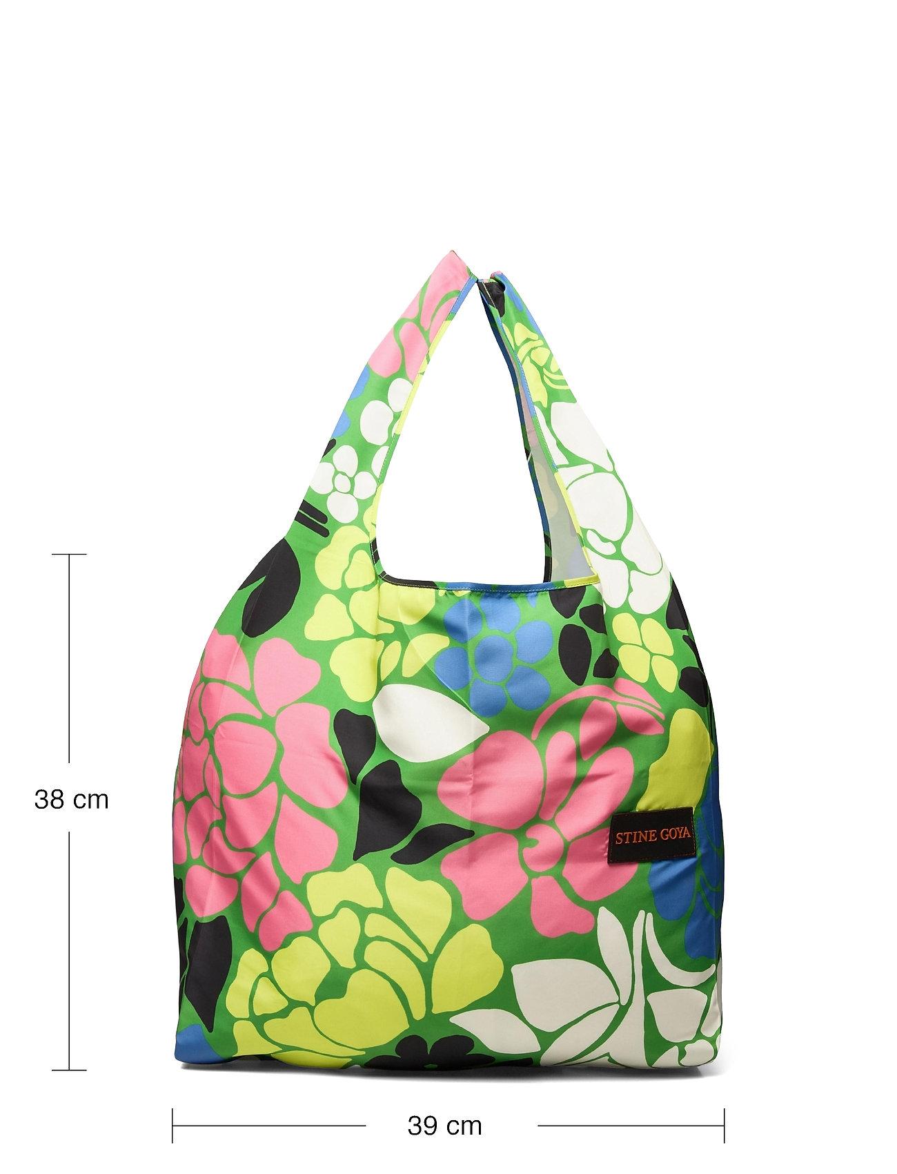 STINE GOYA - Idunn, 1190 Shopping Bag - tote bags - banana leaf - 4