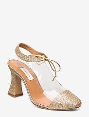 STINE GOYA - Katya, 758 Katya Glitter - classic pumps - gold - 1