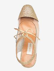 STINE GOYA - Katya, 758 Katya Glitter - classic pumps - gold - 4