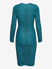 STINE GOYA - Blake, 850 Glitter Jersey - stramme kjoler - turquoise - 1