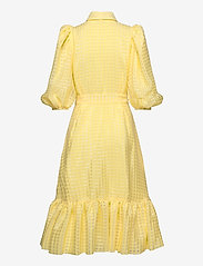 STINE GOYA - Chinie, 864 Gingham Poly - omlottklänningar - marigold - 1