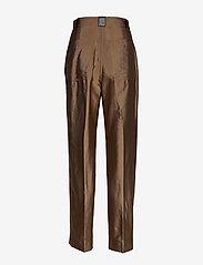 STINE GOYA - Chet, 847 Tailoring - bukser med lige ben - mocha - 1
