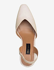 STINE GOYA - Agatha, 884 Glitter Shoes - sling backs - champagne - 3