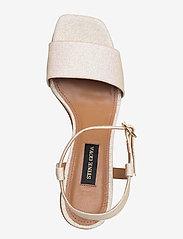 STINE GOYA - Oda, 884 Glitter Shoes - korolliset sandaalit - champagne - 3