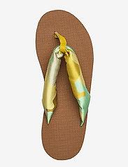 STINE GOYA - Trine, 889 Trine Sandals - płaskie sandały - camouflage green - 3