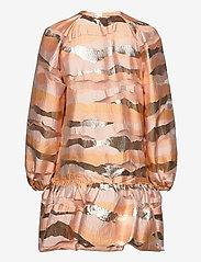 STINE GOYA - Josefine, 923 Organza - korte kjoler - horizon gold - 1