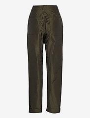 STINE GOYA - Laia, 924 Taffeta - bukser med lige ben - seaweed green - 2