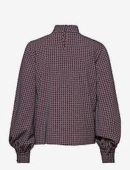 STINE GOYA - Eddy, 1081 Grid Stretch - langærmede bluser - grid - 2