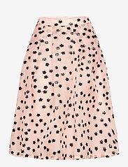 STINE GOYA - Thea, 1012 Meadow Organza - midi kjolar - meadow blush - 1