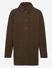 STINE GOYA - Shania, 1041 Solid Cady - kläder - cedar - 1