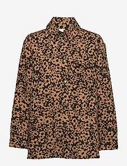 STINE GOYA - Silvi, 1033 Stretch Jacquard - långärmade skjortor - daisy - 1
