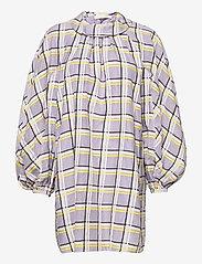 STINE GOYA - Samantha, 1094 Checkered Organza - cocktailkjoler - checks - 1