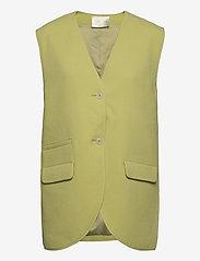 STINE GOYA - Hilma, 1114 Pistachio Tailoring - puffer vests - pistachio - 1