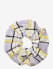 STINE GOYA - Scrunchy, 1094 Checkered Organza - accessoarer - checks - 1