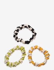 STINE GOYA - Scrunchy Pack, 1108 Checks Mix - haar accessoires - checks - 1