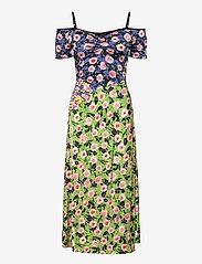 STINE GOYA - Selene, 1163 Viscose Jersey Printed - sommerkjoler - flowermarket mix - 1
