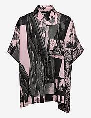 STINE GOYA - Luna, 1186 Poly Twill - langærmede bluser - pompette rosado - 0