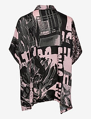 STINE GOYA - Luna, 1186 Poly Twill - langærmede bluser - pompette rosado - 1
