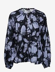 STINE GOYA - Xavi, 1186 Poly Twill - langærmede bluser - opium violet - 1