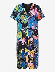 STINE GOYA - Jemma, 1176 Poly Stretch - alledaagse jurken - opium garden - 0