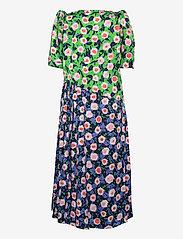 STINE GOYA - Kori, 1169 Textured Poly - sommerkjoler - flowermarket mix - 1