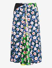 STINE GOYA - Lilah, 1169 Textured Poly - midi nederdele - flowermarket mix - 0