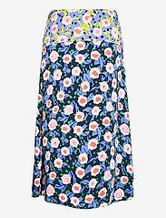 STINE GOYA - Lilah, 1169 Textured Poly - midi nederdele - flowermarket mix - 1