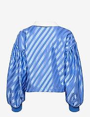 STINE GOYA - Yousef, 1160 Stripe Jersey - langærmede bluser - stripes blue - 1