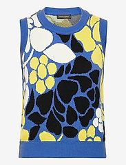 STINE GOYA - Yarrow, 1210 Banana Leaf Knit - strikveste - violet banana leaf - 0