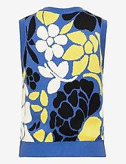 STINE GOYA - Yarrow, 1210 Banana Leaf Knit - strikveste - violet banana leaf - 1