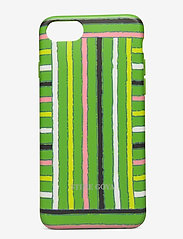 Molly, Iphone Cover 6/7/8 - STRIPES GREEN