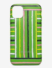 Molly, Iphone Cover 11 - STRIPES GREEN