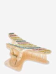 STINE GOYA - Crocodile, 1204 Hair Accessories - hårspænder - golden - 1